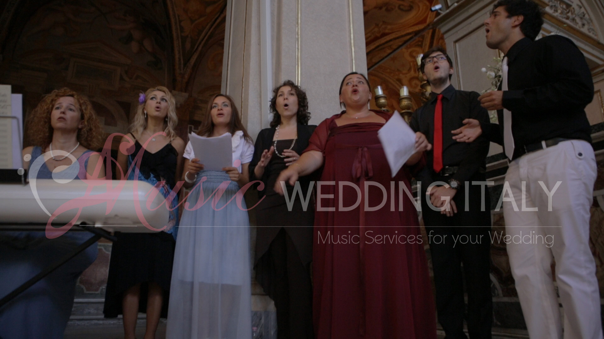 coro gospel music wedding italy wedding music italy