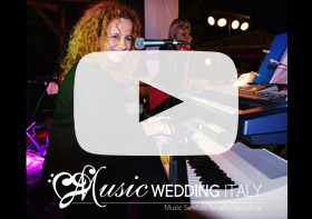 Italian wedding band, band matrimonio Italia, Roma, wedding music band italy florence siena