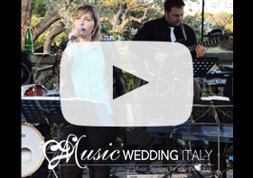 Rome wedding band, band matrimonio roma, wedding music band italy florence siena