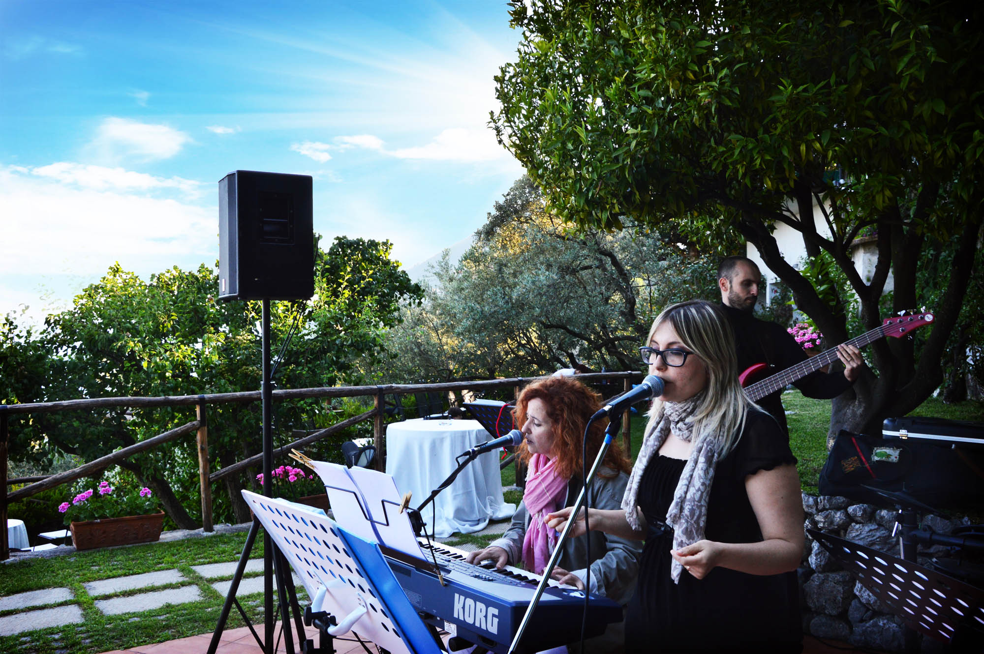 Wedding music band - Band matrimonio -  Italy Amalfi Sorrento Firenze Siena Rome
