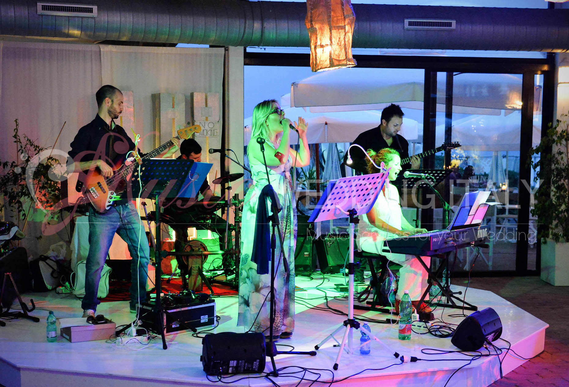 matrimonio con Band, roma wedding band,