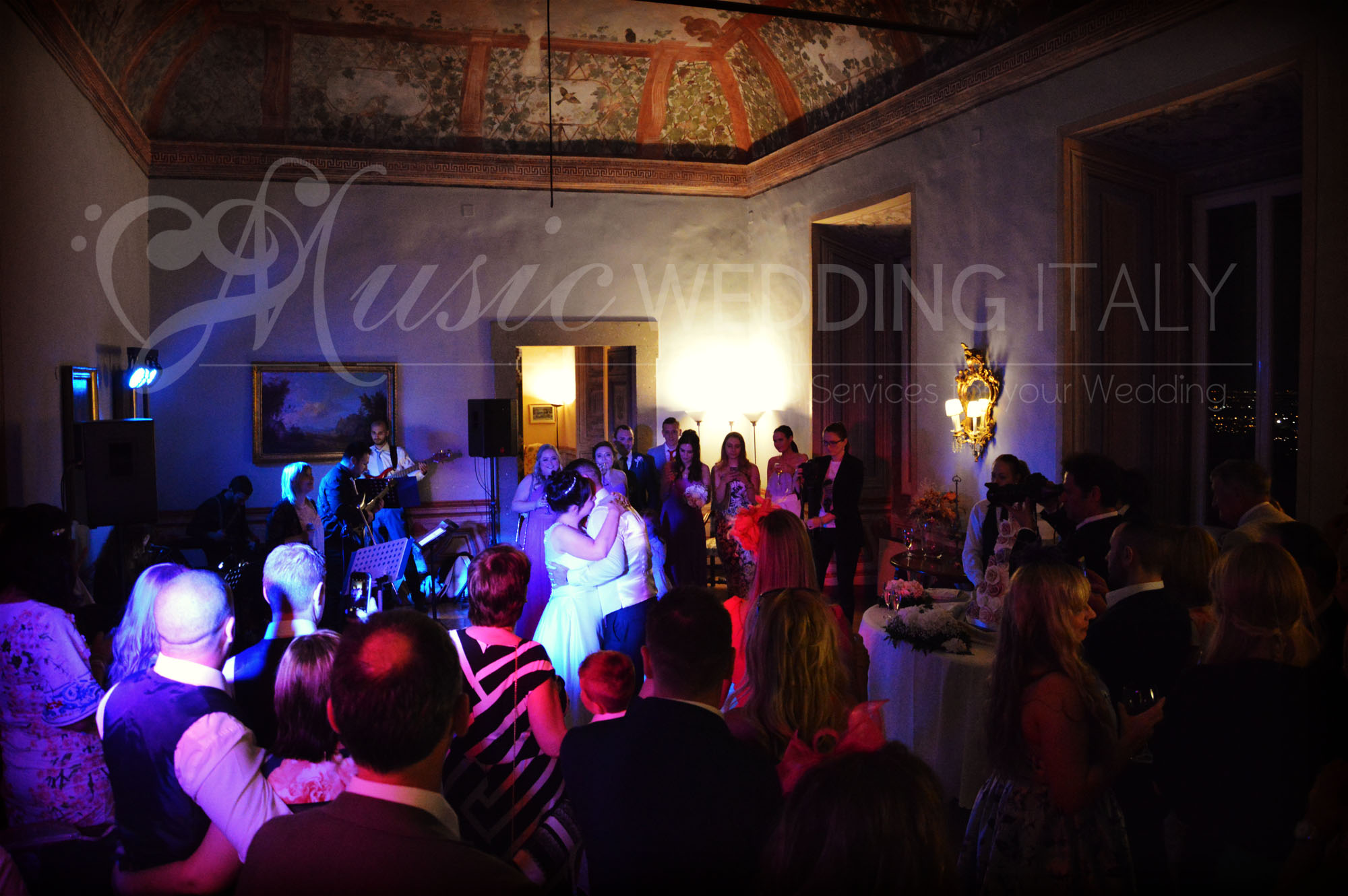 musicians for wedding rome itay