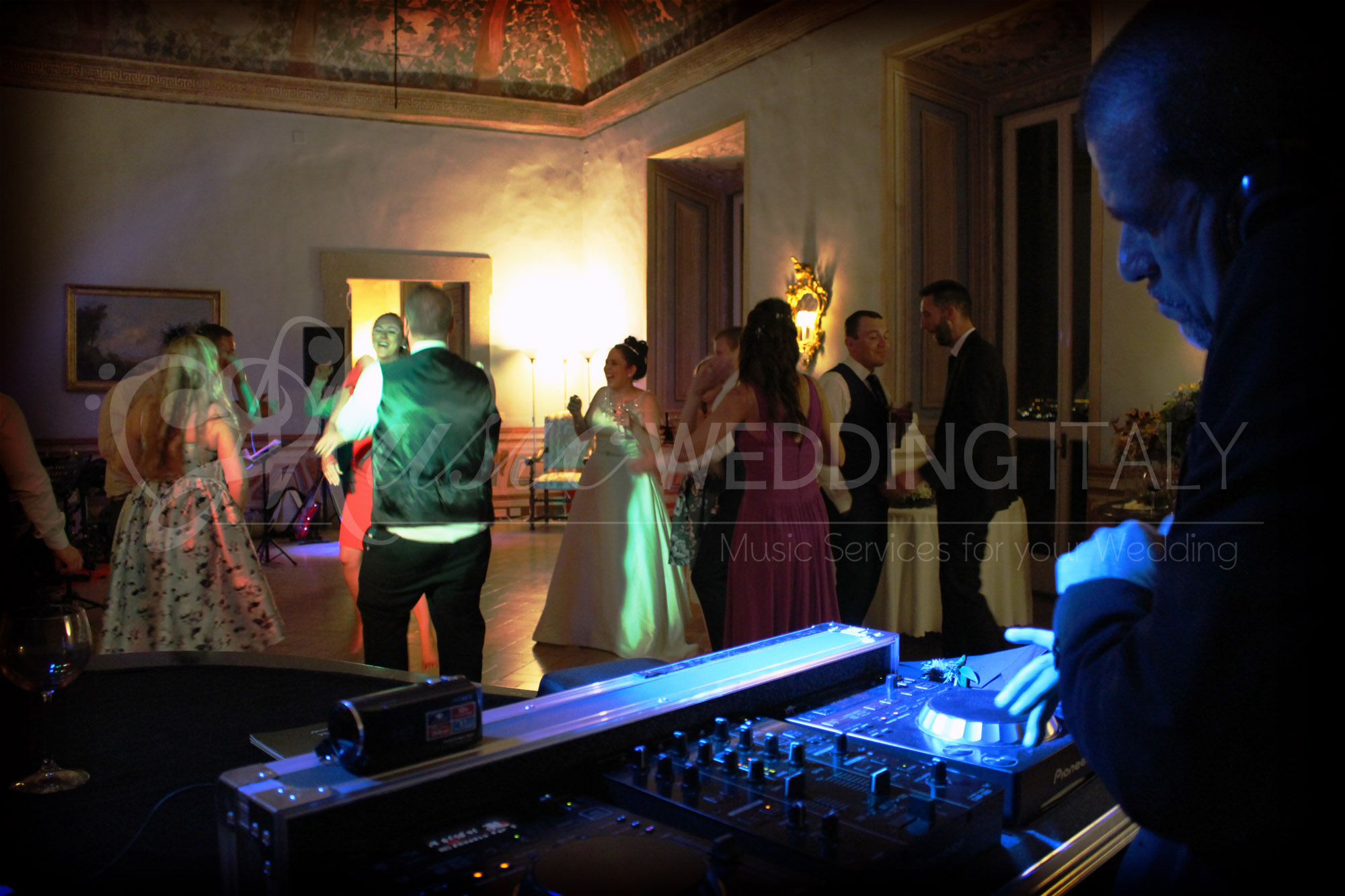wedding dj in italy rome - wedding parties in Italy