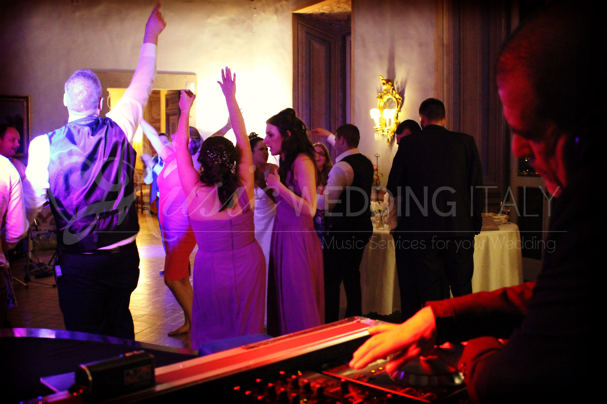 Wedding dj for your wedding in italy - Wedding Rome Italy Florence Siena Tuscany