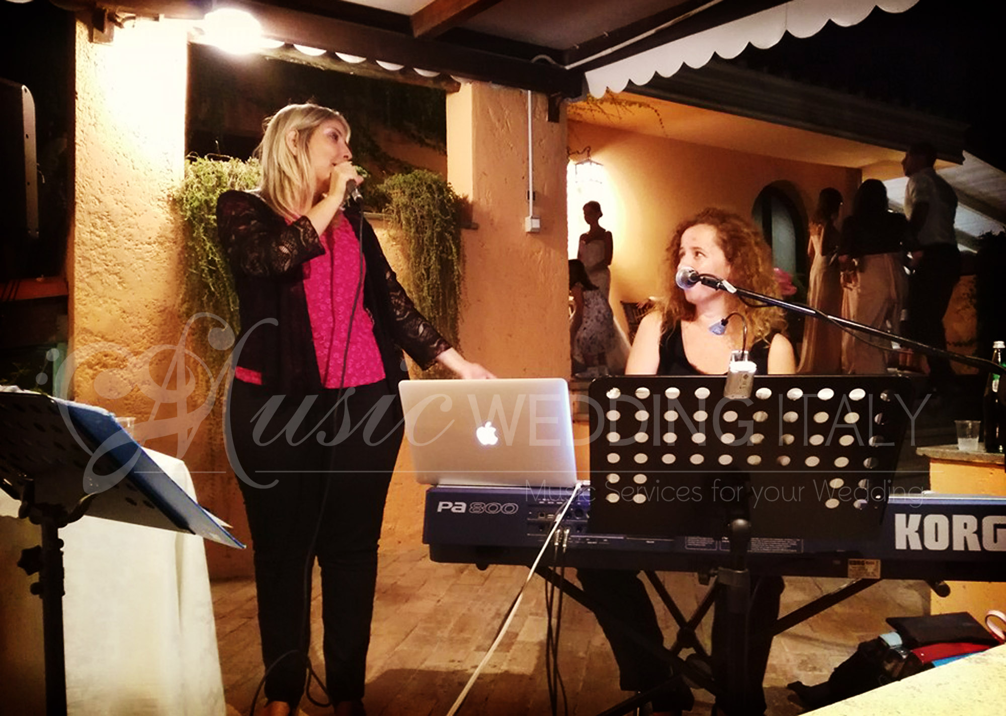 DUO singer and pianist for wedding