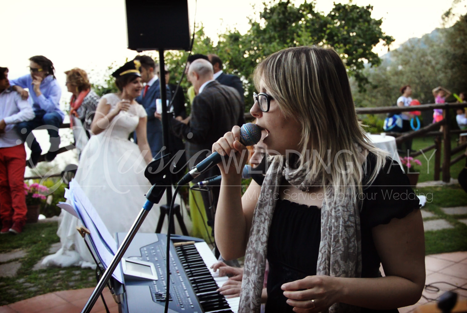 Wedding party band Italy, live musc, music wedding italy